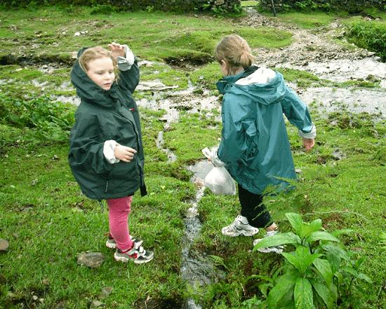 kids love raining