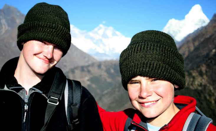 Everest Base Camp trek for kids