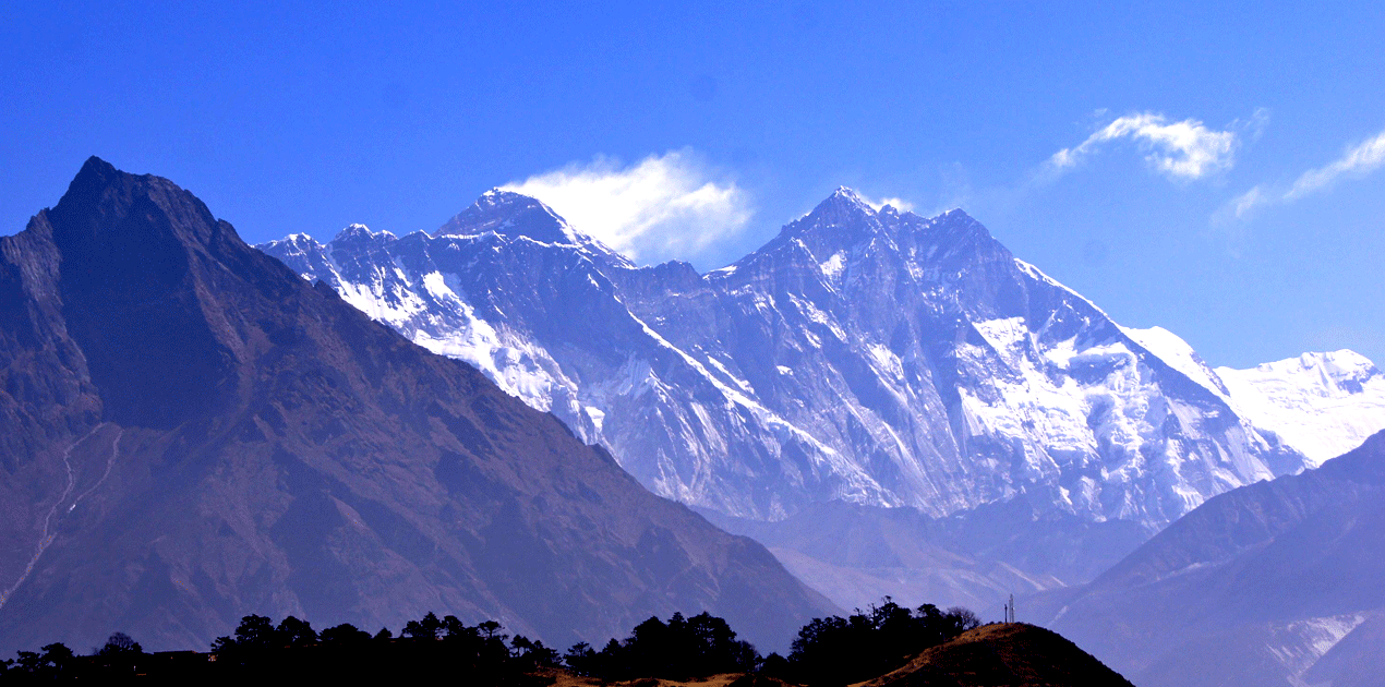 Everest View from Namche