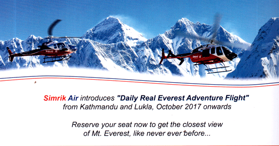 Helicopter Tours Everest Region