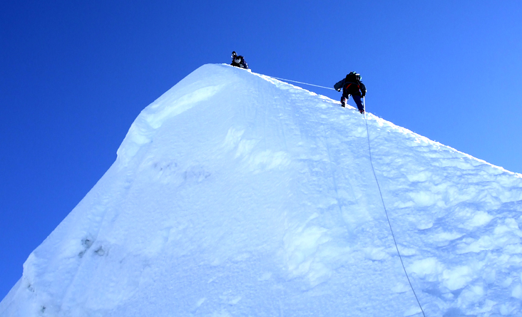 this is the Top Of Island peak