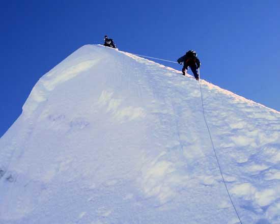 top of the Island peak