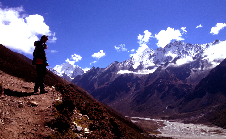 Langtang trekking with kids