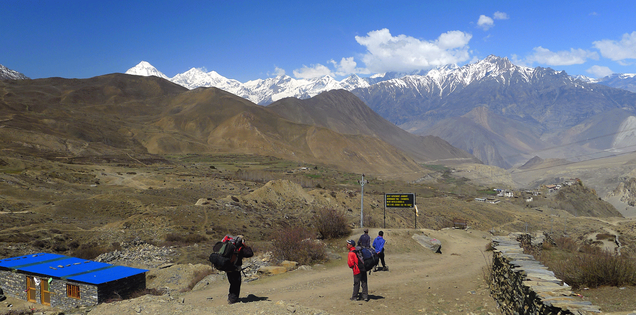 Jomsom Trek with kids