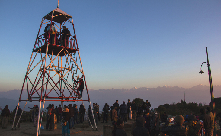 Nagarkot Sunrise View Day Hike Tour