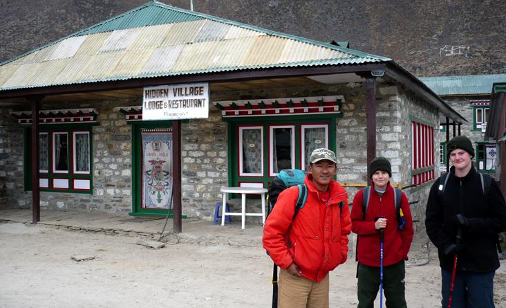 Namche Trekking kids