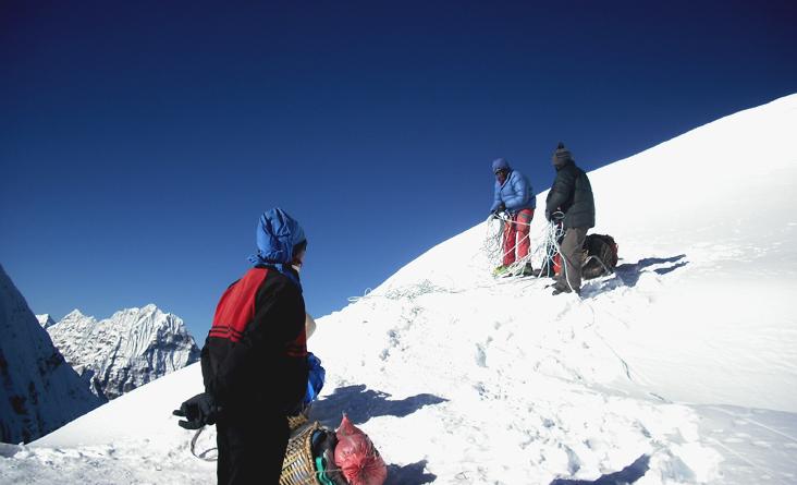 Sherpani Col passes