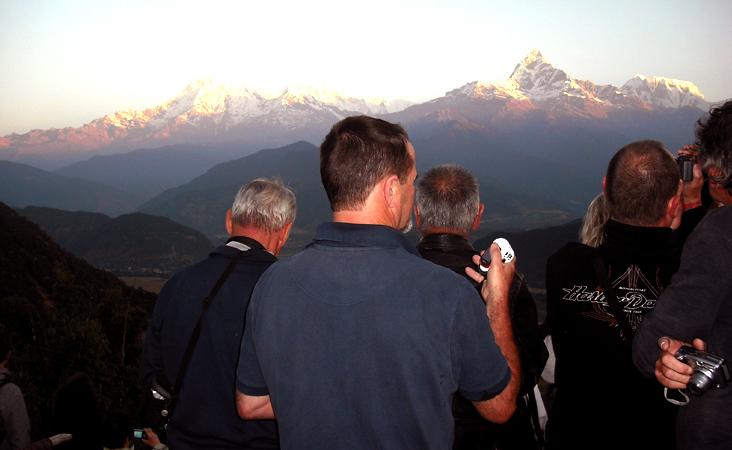 Short Trek around Pokhara Dhampus Sarangkot