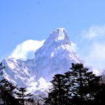 Everest View from Namche Bazaar