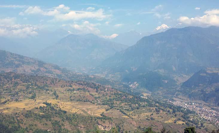 ghale Gaun Trekking