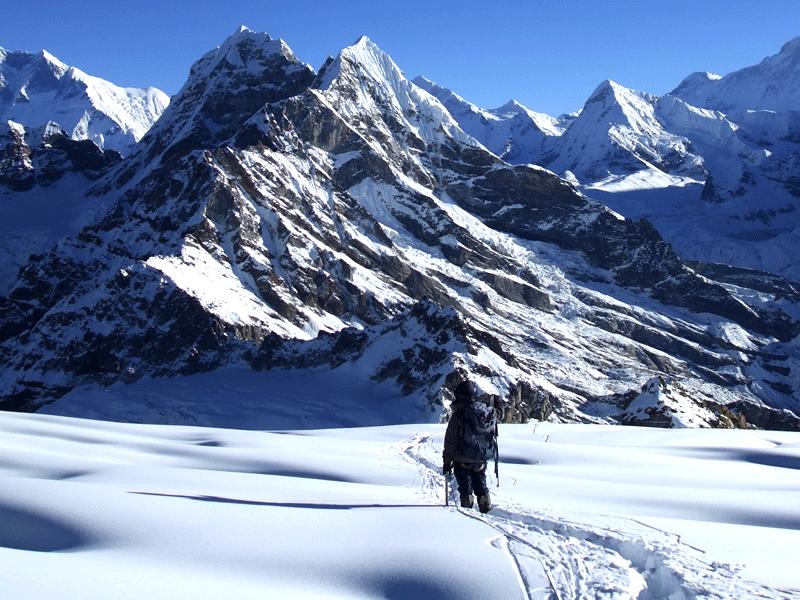 Mera Climbing