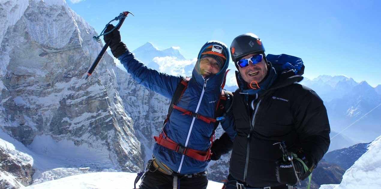 Pachermo peak summit 2019