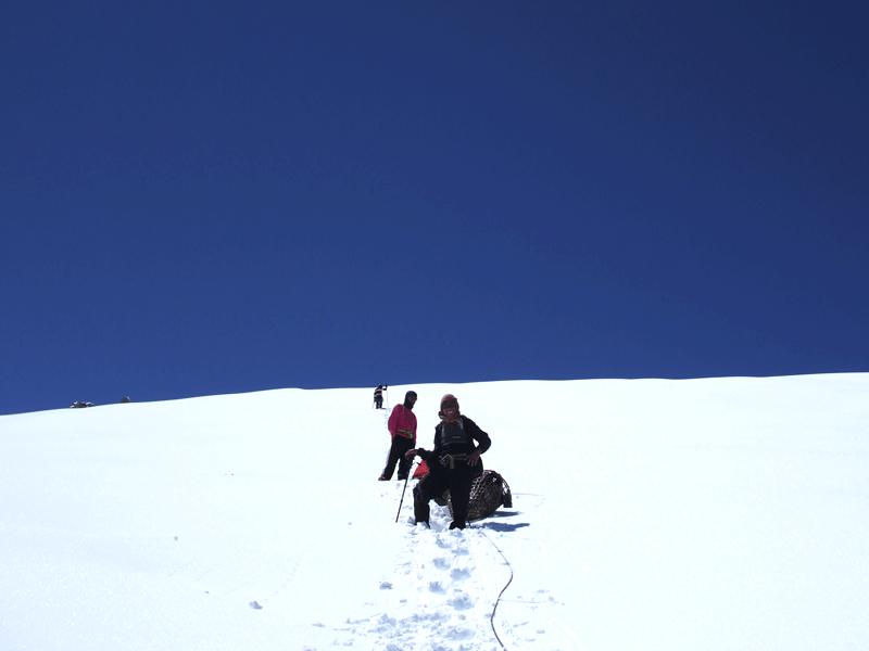 Sherpa guide to Mera peak