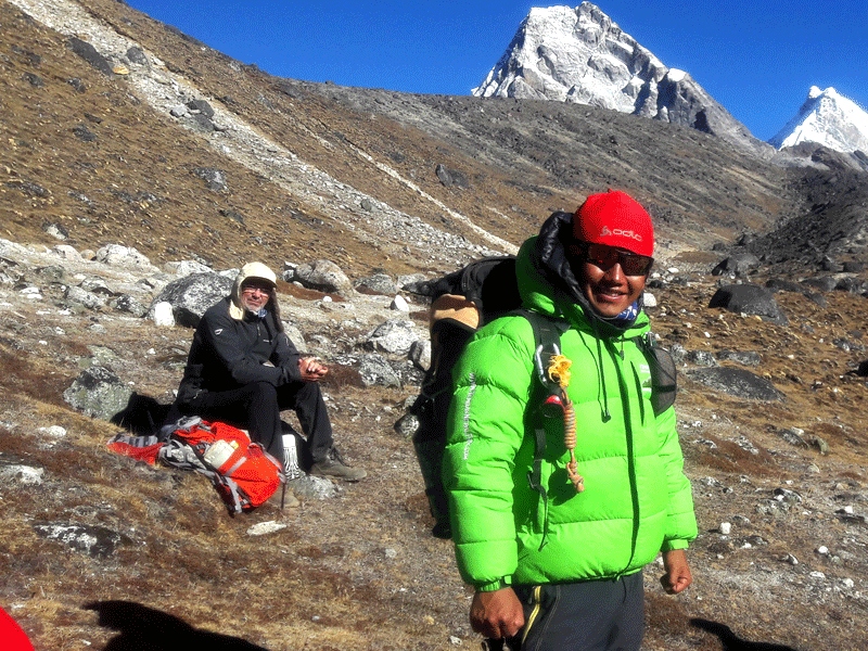sherpa porter cum guide