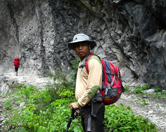 Porter from Pokhara