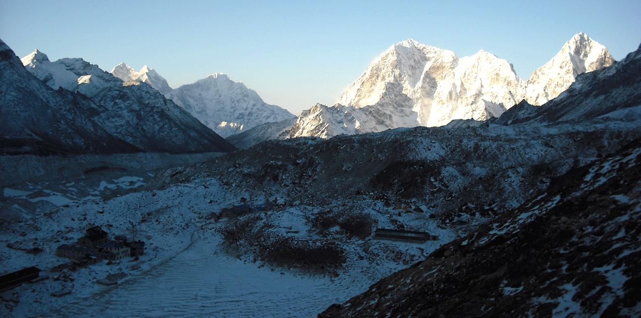 Elevation of Everest base camp