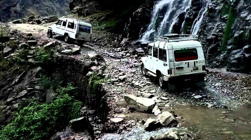 Jeep to Chame dharapani