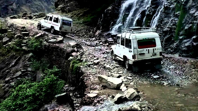 Jeep tour to Chame Manang