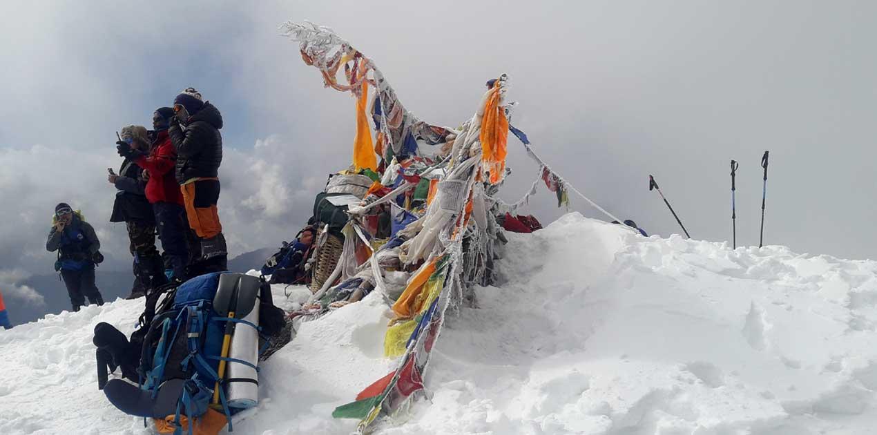 Pike peak summit