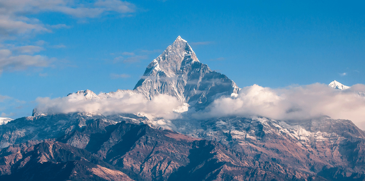 Fishtail mountain View from Dhampus Trek
