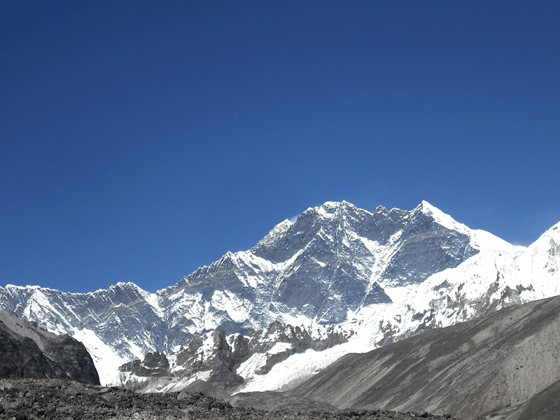 Everest View from Panch pokhari