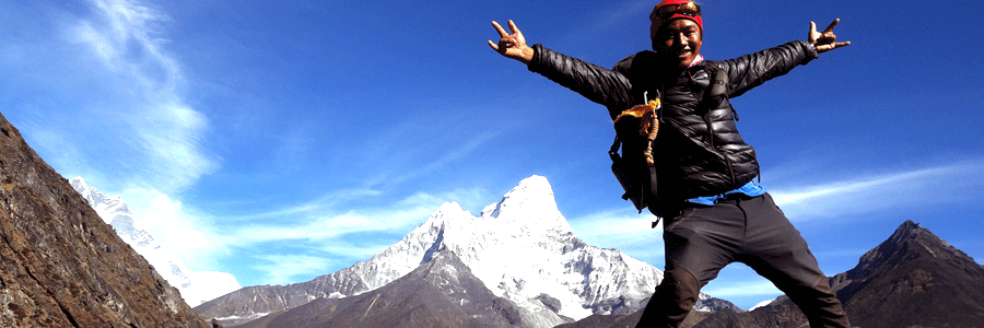 Local Sherpa guide to Everest Base Camp