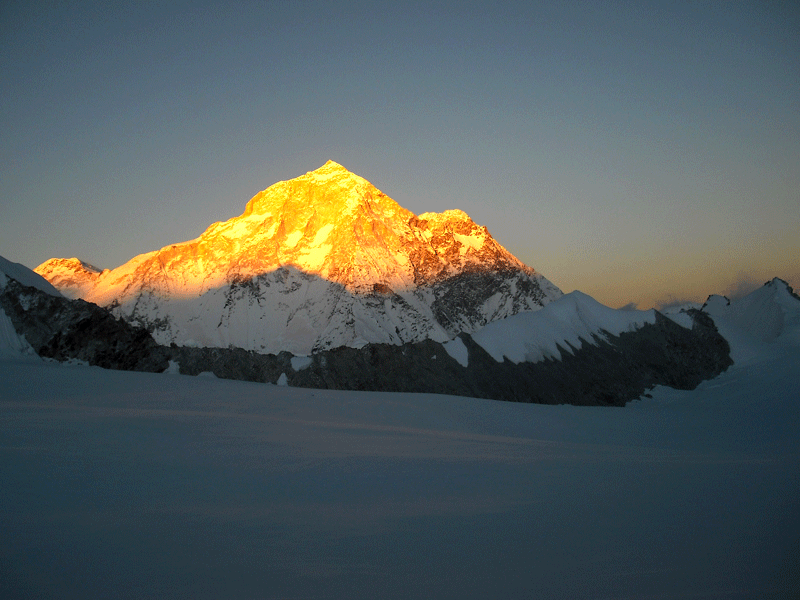 Makalu sunset view