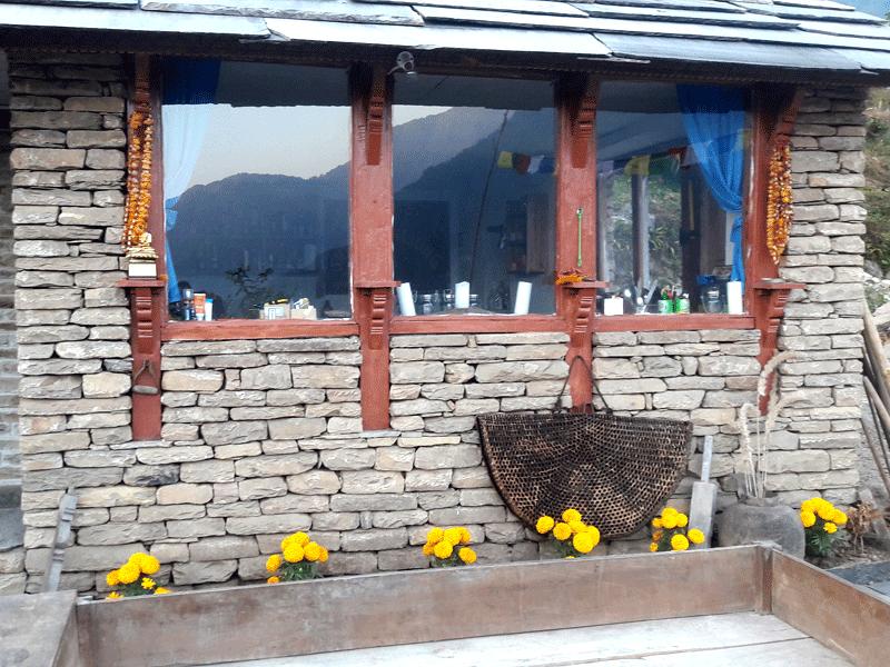 Mardi Himal Base Camp lodge