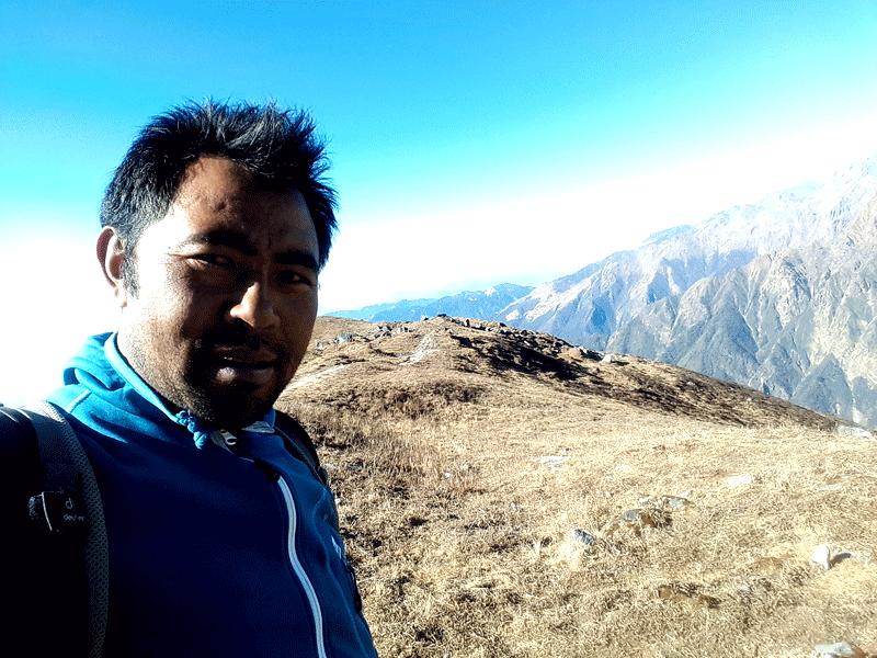 Mardi Himal Base Camp view
