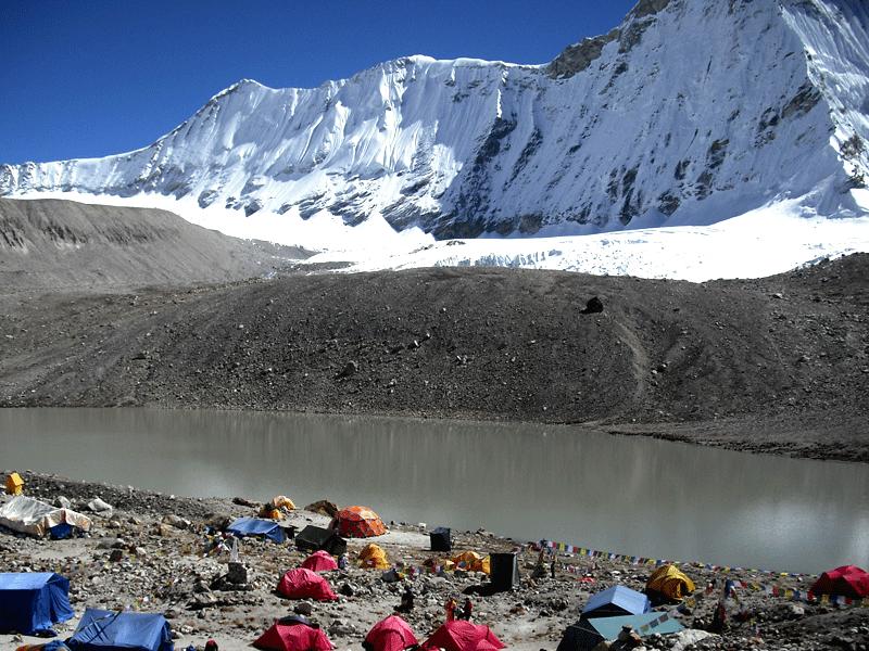 Panch pokhari Camping