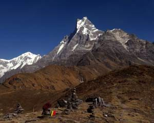 Machhapuchhare view from mardi himal
