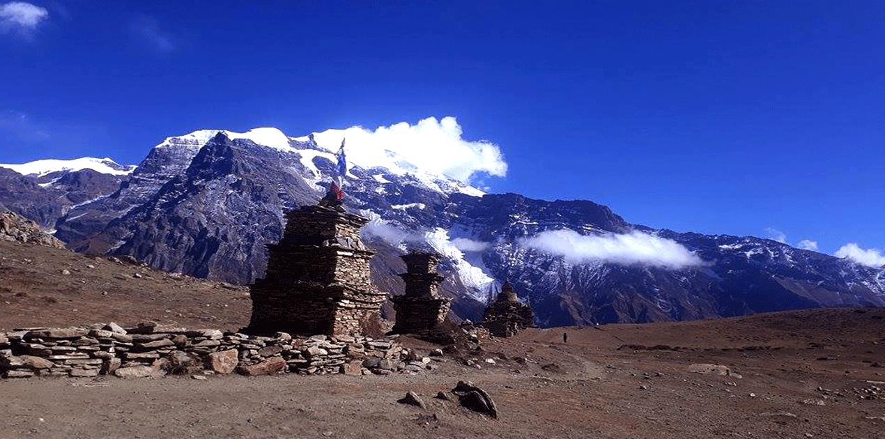 view from Kang La Pass