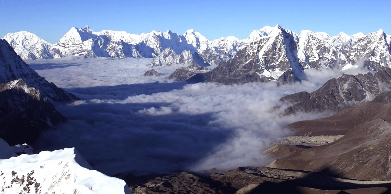 Mera Peak Amphu Lapcha Pass Island Peak Climbing