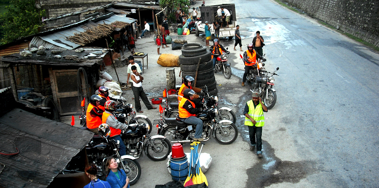 Motorbike Tour To Manang