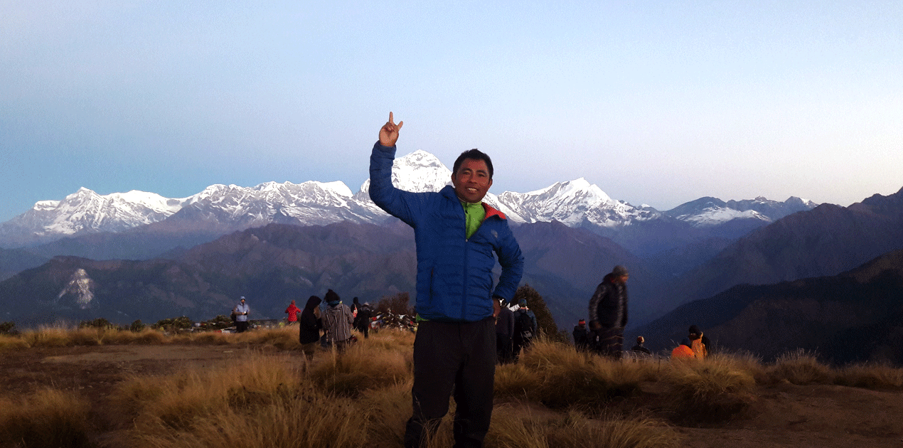 view from Poon Hill Trek