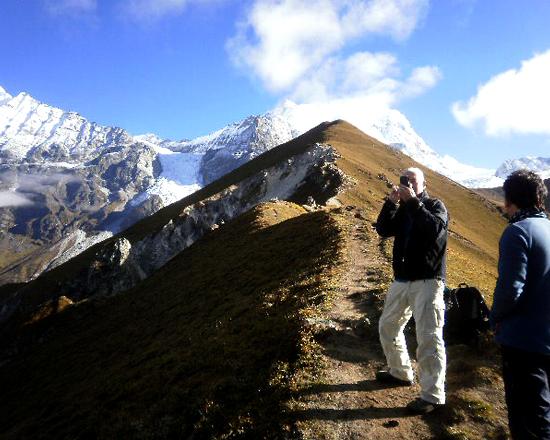 Langtang mountain views