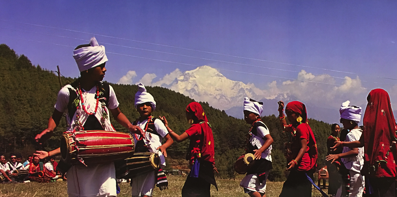 typical magar dance