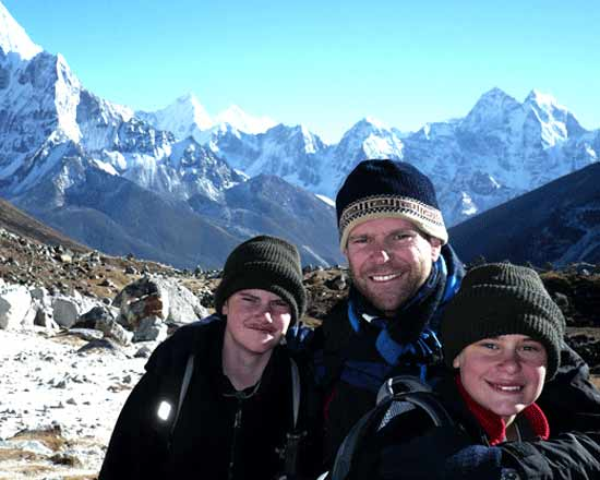 Trekking in Nepal With Kids