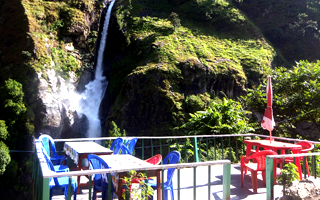 Chamje water fall restaurant