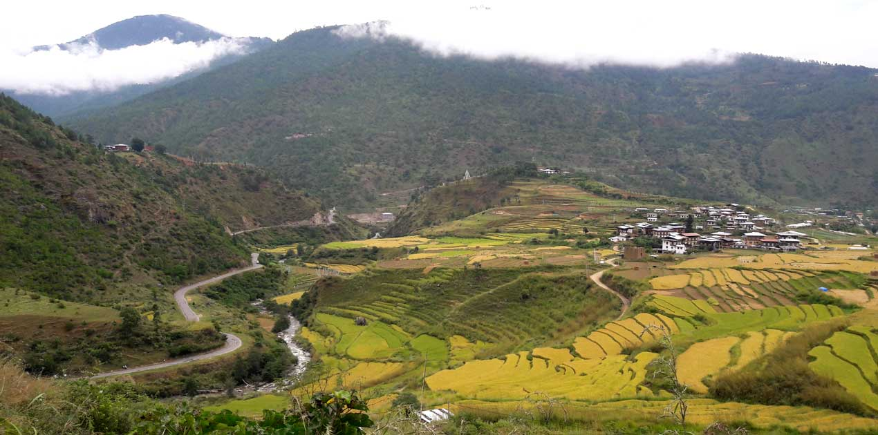 country side Bhutan