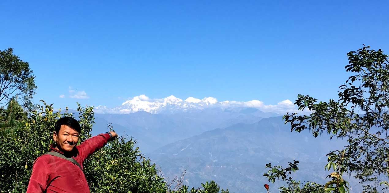 Kanesh himal view from kakani