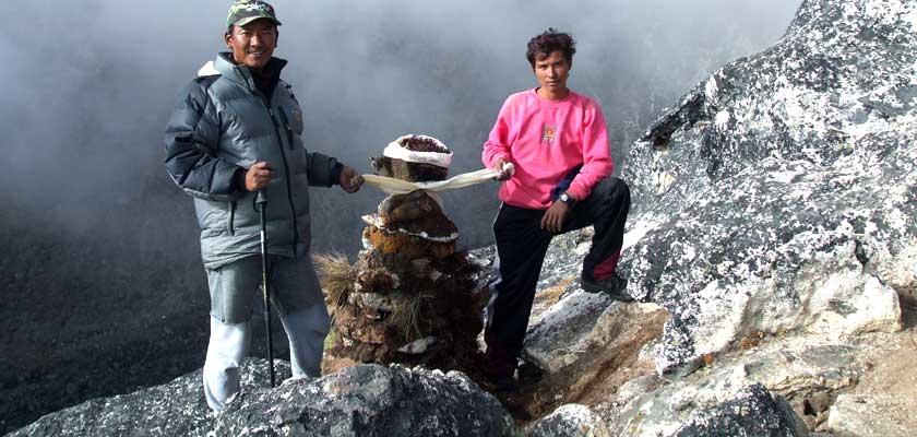 Nangkartshang Peak