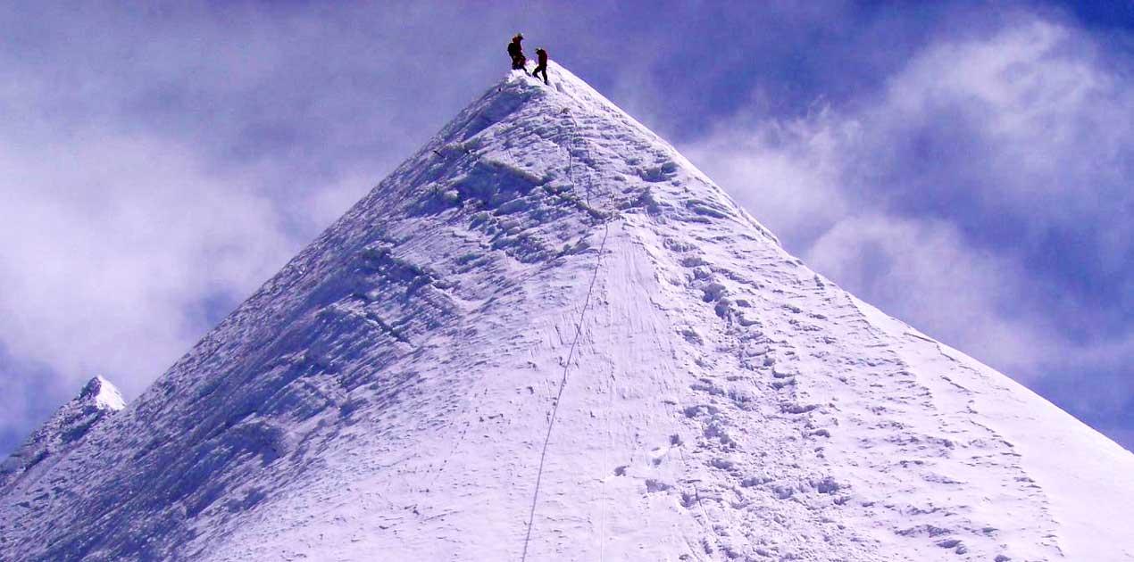 Pisang peak top