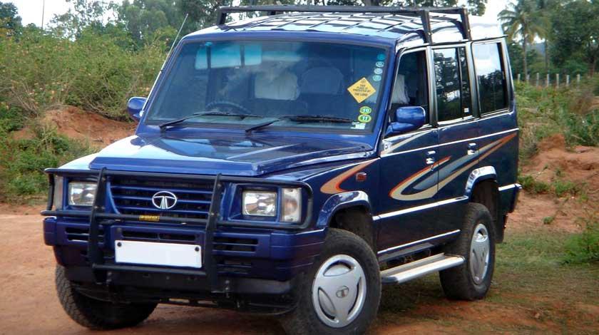 Tata sumo jeep