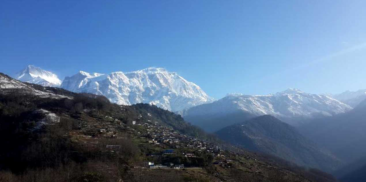 sikles village Nepal