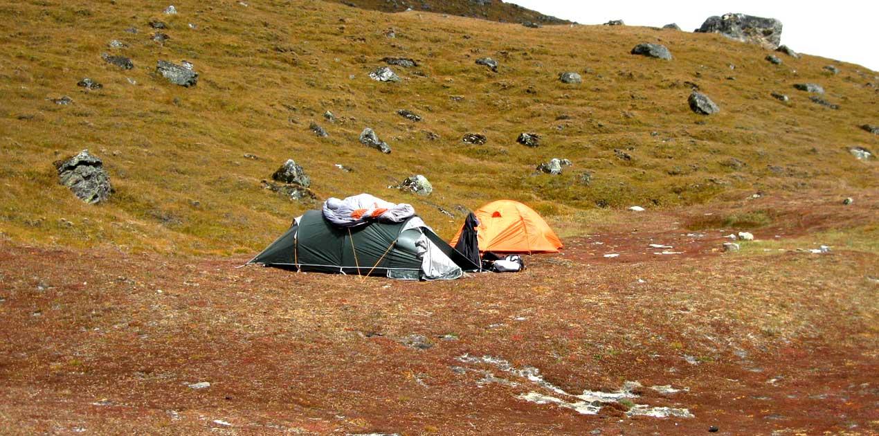 Yalung ri Base Camp
