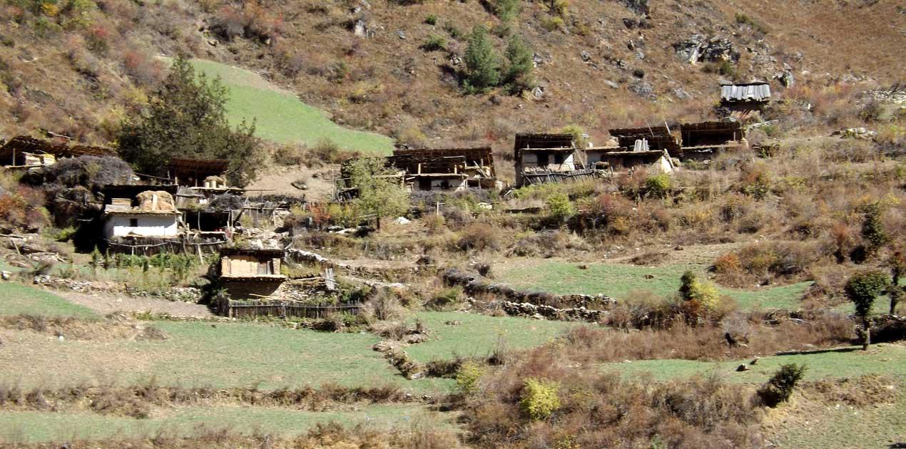 remote village of Dolpo